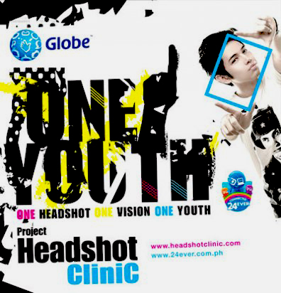 globe headshot