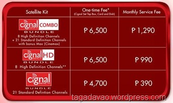 cignal package