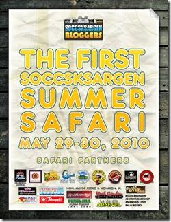 bloggers safari poster