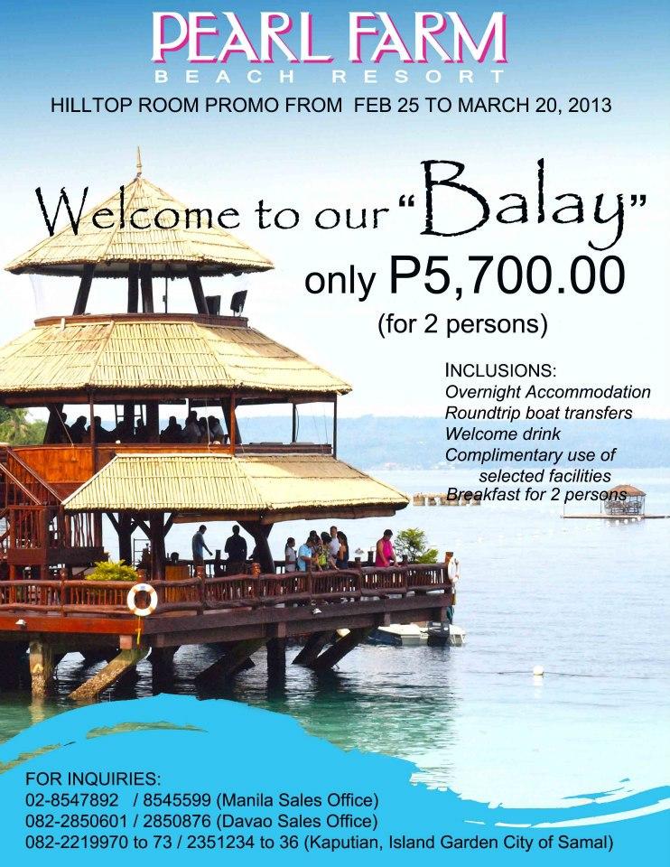 Pearl Farm Davao Room Rates