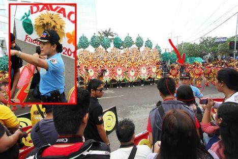 Davao Police Kadayawan 2014